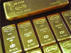 ЦБ России продолжает активно покупать золото