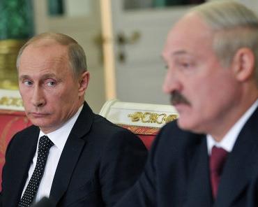 Владимир Путин и  Александр Лукашенко встретились в горах