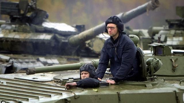 Премьер Украины  Яценюк призвал готовиться к войне