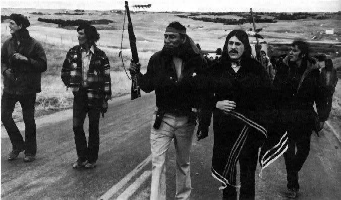 Последнее восстание индейцев в 1973 году