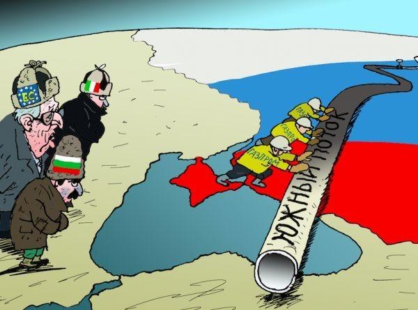 """Болгария заявила о готовности к реализации проекта """"Турецкий поток"""""""