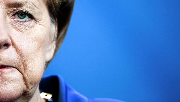 Канцлер ФРГ выступила за продление антироссийских санкций
