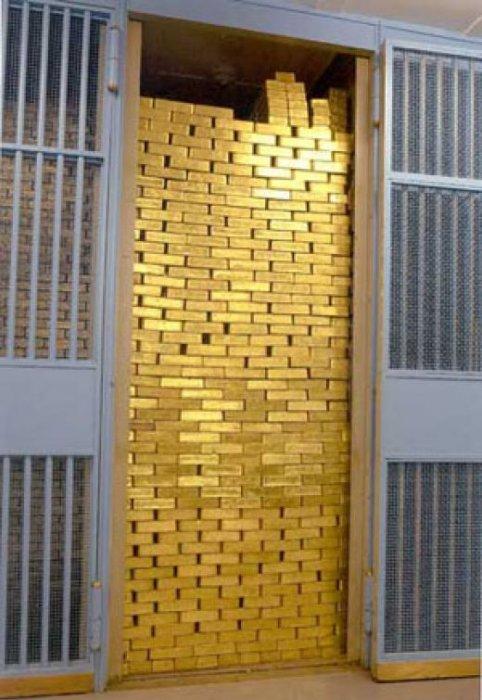 Центральный банк Турции вывез свое монетарное золото  из США