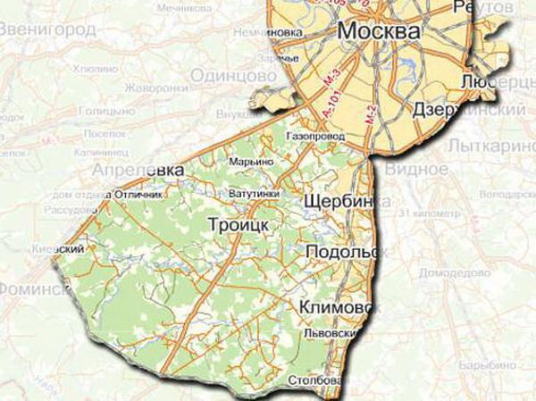подольск москва или московская область