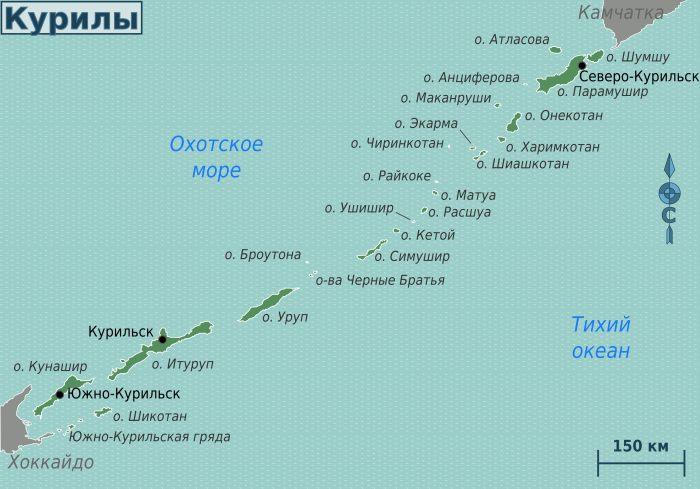 история курильских островов кратко