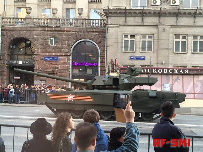 """Российский Т-14 """"Армата"""" возглавил мировой рейтинг танков"""