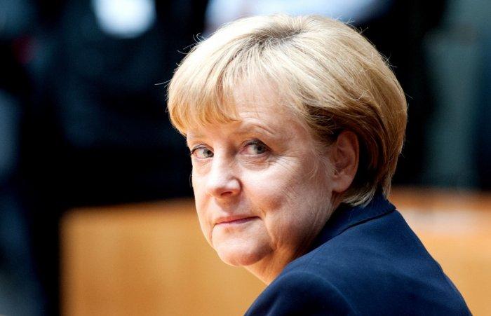 Ангела Меркель назвала Германию посмешищем