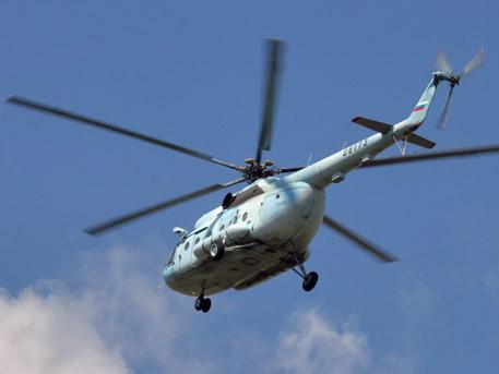 Вертолет Ми-8 совершил жесткую посадку недалеко от Томска.