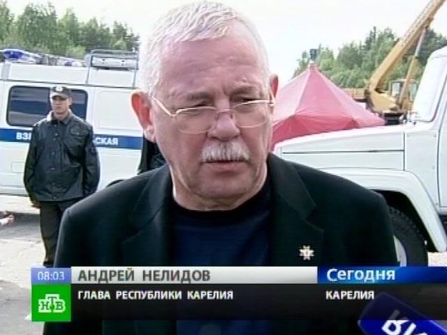 Бывший глава Карелии Нелидов расплакался в суде
