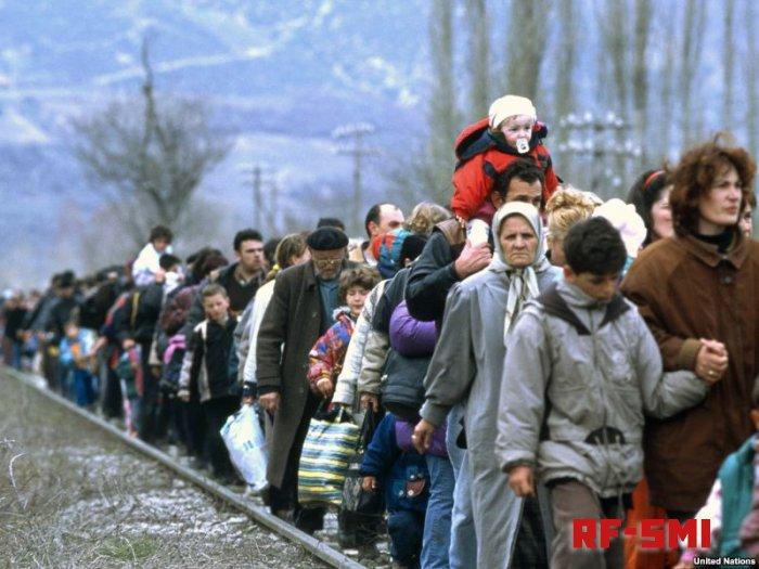 Чешское правительство перенаправило беженцев в Германию