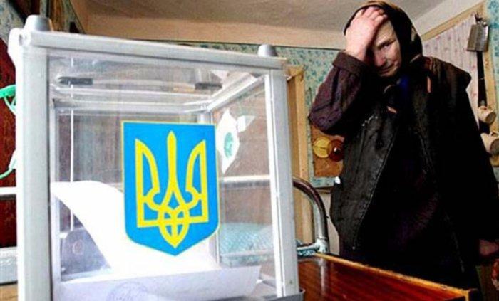 Еще один украинский экзит-пол из сети (на 13:00 в Киеве)