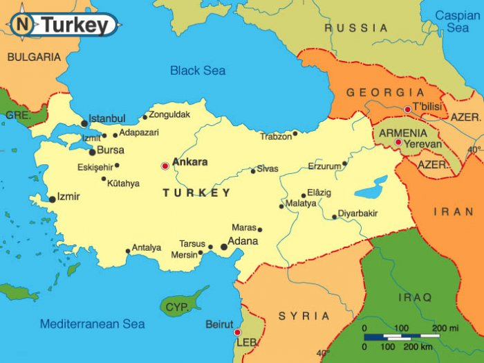 Турция вывела солдат из Северного Ирака