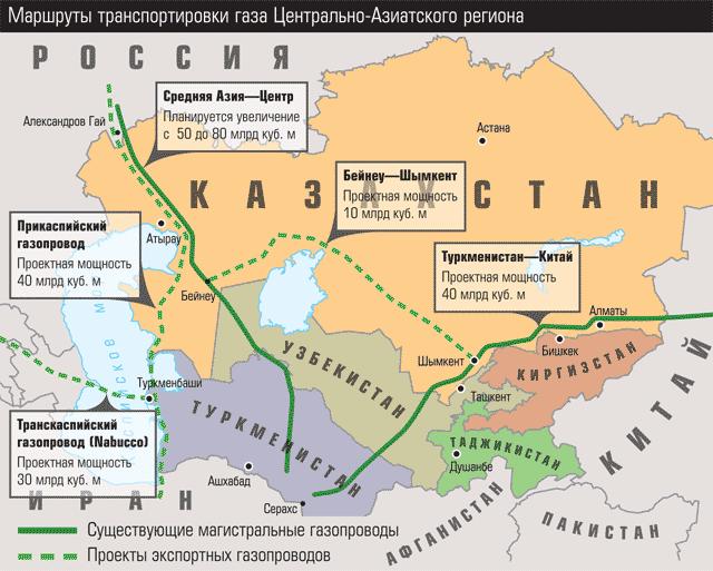 Россия перестала покупать туркменский газ. Своего достаточно.