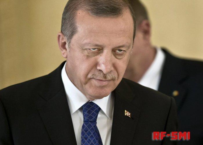 Р. Эрдоган сегодня раскрыл источник своей истеричности.