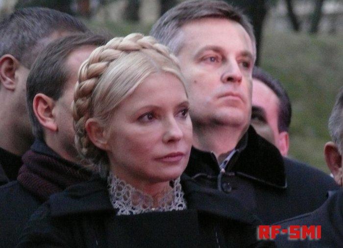 Ю. Тимошенко напрямую обвинила П. Порошенко в коррупции и кумовстве