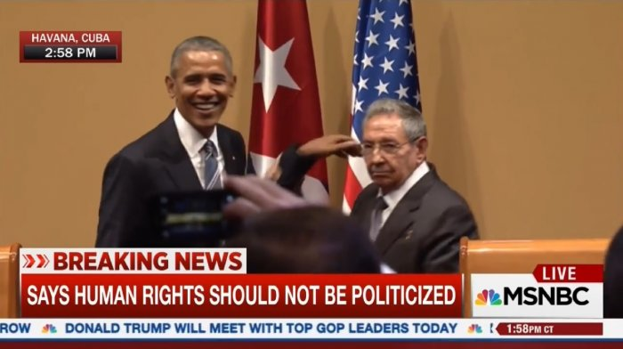 Рауль Кастро не позволил Обаме свой фирменный жест