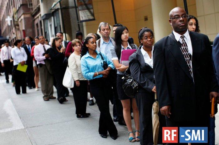 Число заявок на пособие по безработице в США увеличилось до 219 тыс, хуже прогноза