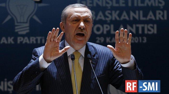 Эрдоган заявил, что видит будущее Турции в Европе