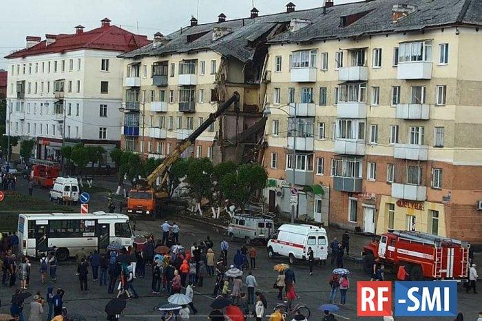 СК: Задержан собственник помещения в доме в Междуреченске, где обрушился подъезд