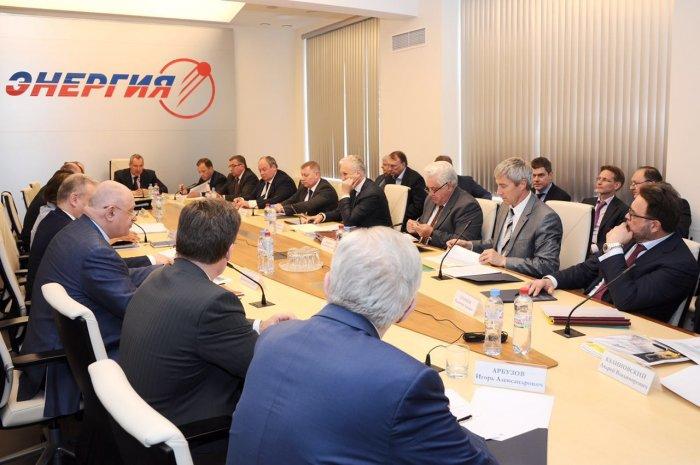 Вице-премьер  Д. Рогозин посетил РКК Энергия им.С.П.Королёва