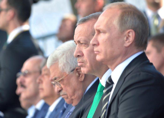 Эрдоган рассказал о разговоре с В. Путиным по поводу сирийского лидера