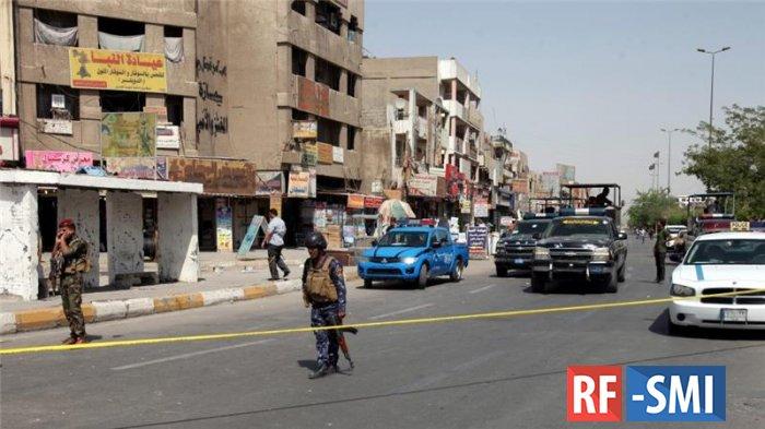 В Багдаде во время траурной церемонии произошел теракт