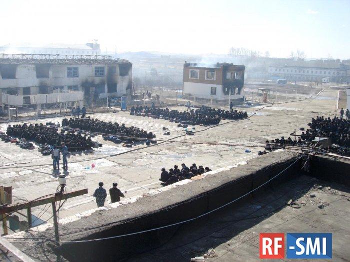 В колонии недалеко от Душанбе произошел бунт. Есть погибшие и раненные
