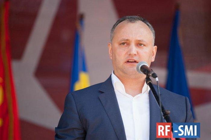 На понедельник запланирован роспуск парламента Молдавии