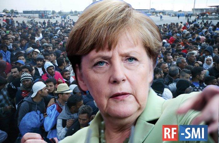 Меркель готова депортировать 100.000 мигрантов