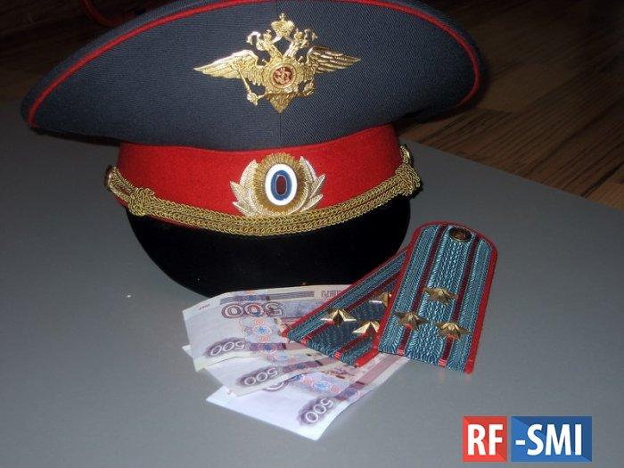 Четверых полицейских в Балашихе задержали за вымогательство 2 млн рублей