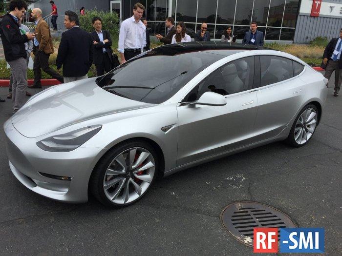 В Калифорнии начинают производство самой дешевой Tesla Model 3