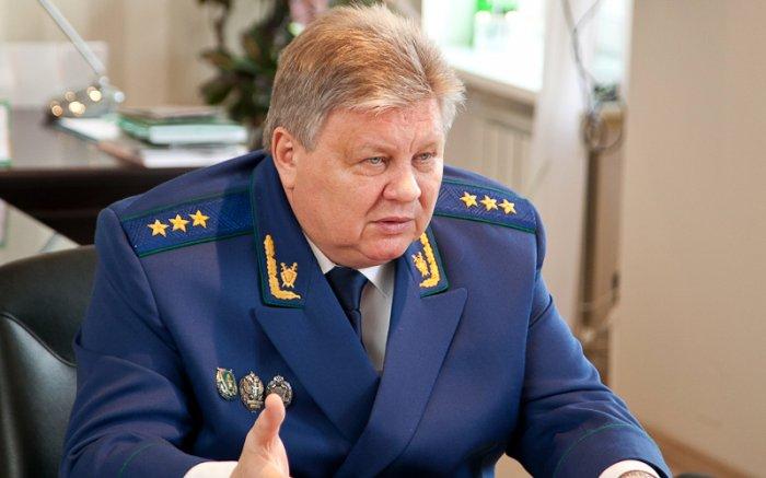 Заместитель генерального прокурора РФ Воробьев ушел на пенсию