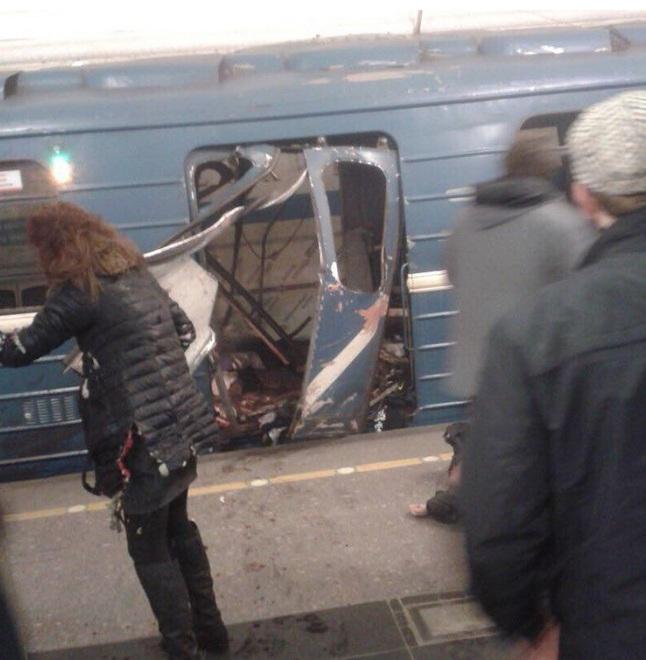ГКНБ: исполнитель взрыва в Петербурге является уроженцем Киргизии