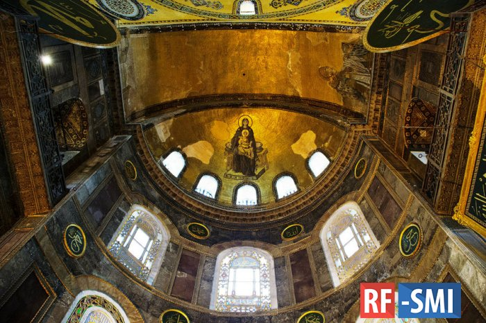 В Стамбуле призвали собор Святой Софии снова сделать мечетью
