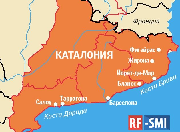 Посольство России высмеяло заявления о российских солдатах в Каталонии