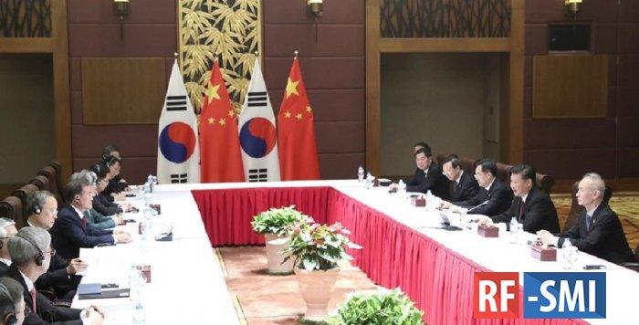 Южная Корея  в шоке от китайского приема  их Президента