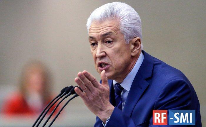 Глава Дагестана Владимир Васильев госпитализирован в Москве