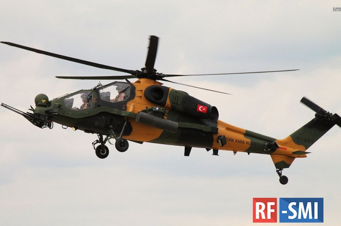 Курдами сбит турецкий вертолет. Стрелок и пилот погибли
