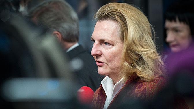 Экс-министр иностранных дел Австрии Карин Кнайссль та еще тварь...