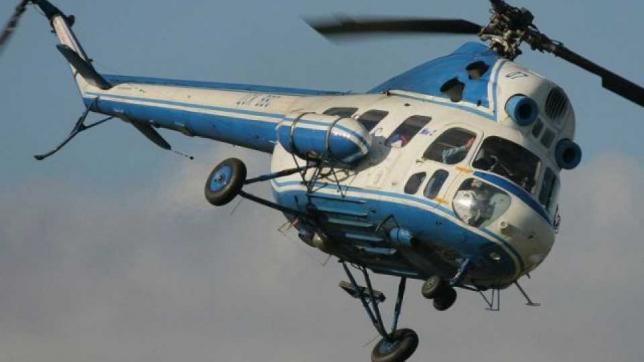 На Ставрополье совершил жесткую посадку вертолет  МИ-2  сельхозавиации