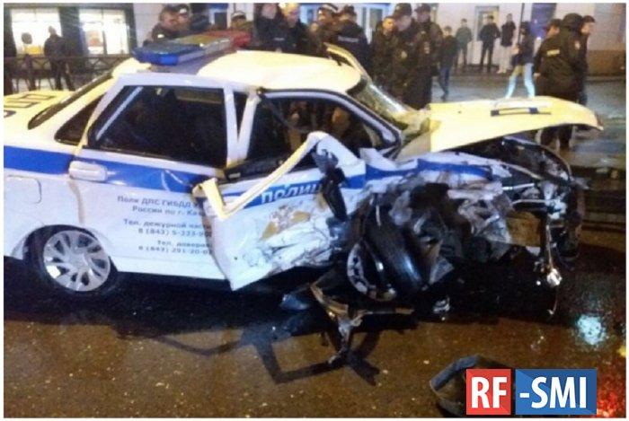 В Казани сотрудник ГИБДД погиб, пытаясь остановить нарушителя на BMW