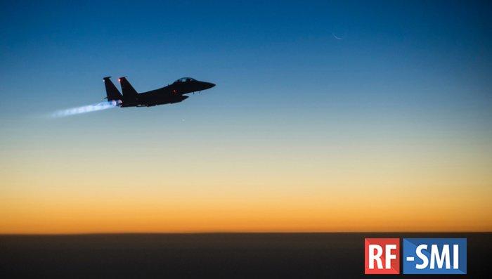 СМИ: В Японии потерпел крушение истребитель ВВС США. Упал в море