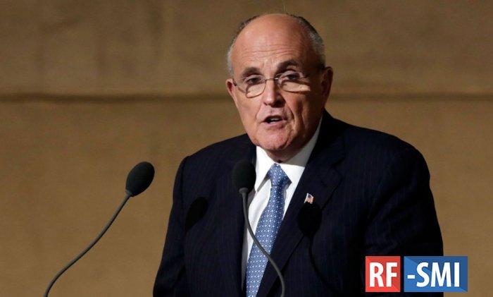 Джулиани требует от Мюллера доказательств по расследованию «дела РФ»