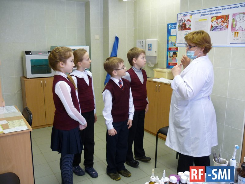 В российских школах реализуется проект по сохранению здоровья детей