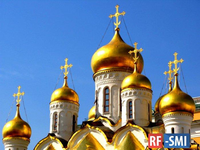 Русская православная церковь в среднем строит три храма в сутки