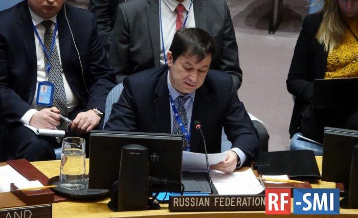 Полянский заявил, что вывод неливийских сил из Ливии должен проходить поэтапно
