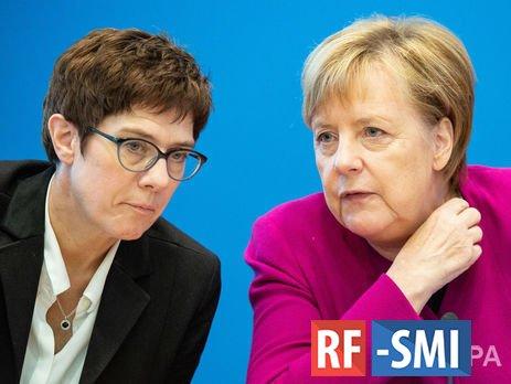 Аннегрет Крамп-Карренбауэр будет министром обороны Германии