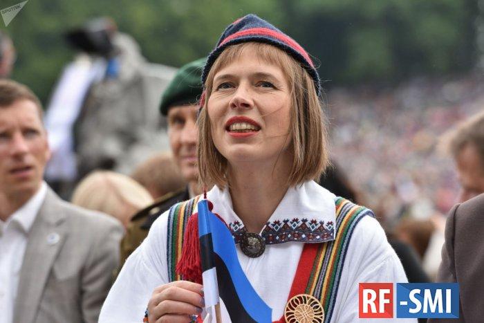 Президент Эстонии пожаловалась на усталость от Украины