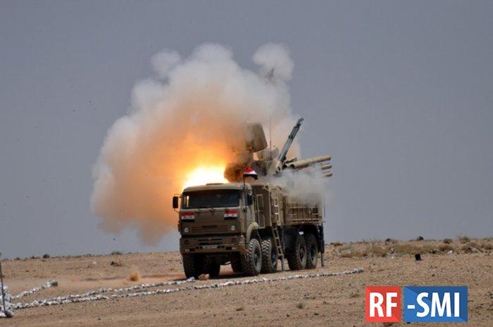 Сирийские системы ПВО отразили ракетный удар по Дамаску
