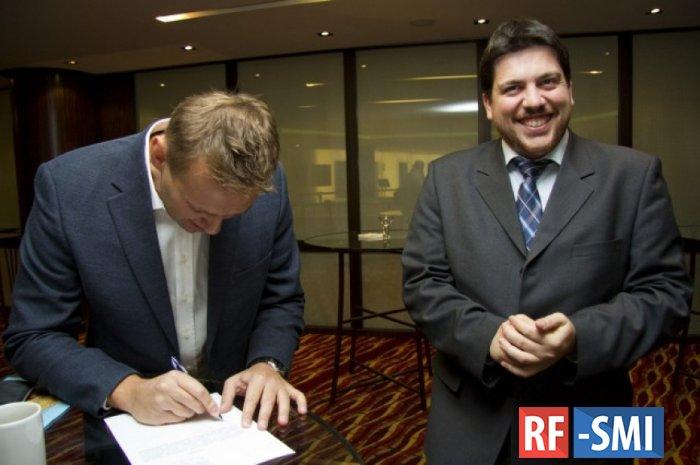 Руководитель штаба Навального Леонид Волков сообщил о своем задержании